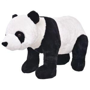 Vidaxl pluszowa panda, stojąca, czarno-biała, xxl Zabawki Pluszaki