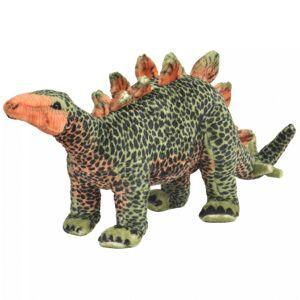 Vidaxl pluszowy stegozaur, stojący, zielono-pomarańczowy, xxl Narzędzia Klucze