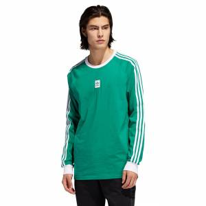 Adidas Koszulka Adidas Cali BB Ls bold green/white