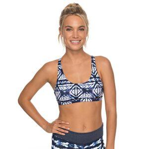 Roxy Fitness Roxy Spirit Bra dress blues geometric feeling  - dress blues geometric feeling