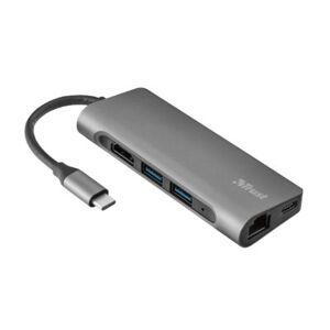 Trust Adapter Multiport 7 w 1 USB C Dalyx
