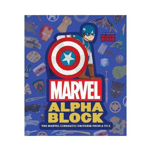 Peskimo Marvel Alphablock by Peskimo