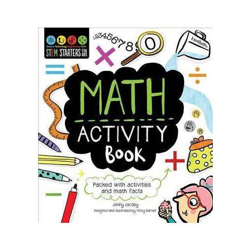 Jenny Jacoby Stem Starters for Kids Math Activity Book by Jenny Jacoby