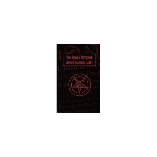 Anton LaVey The Devil's Notebook by Anton LaVey