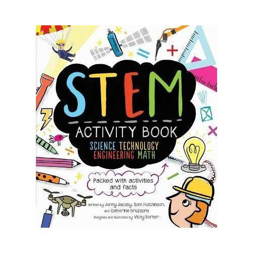 Catherine Bruzzone STEM Activity Book: Science Technology by Catherine Bruzzone