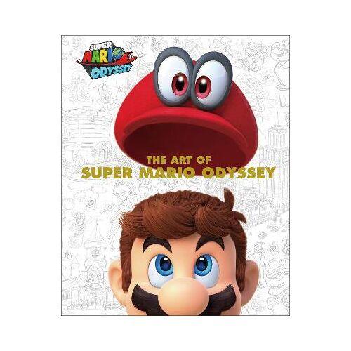 Nintendo The Art Of Super Mario Odyssey by Nintendo
