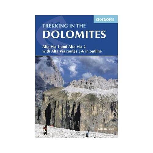 Gillian Price Trekking in the Dolomites by Gillian Price