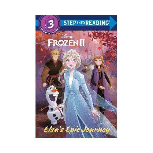 Susan Amerikaner Elsa's Epic Journey (Disney Frozen 2) by Susan Amerikaner
