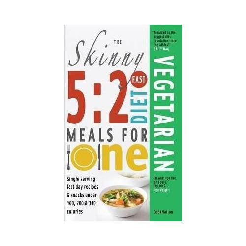 Cooknation The Skinny 5:2 Fast Diet Vegetarian Meals for One by Cooknation