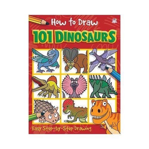 Nat Lambert How to Draw 101 Dinosaurs by Nat Lambert