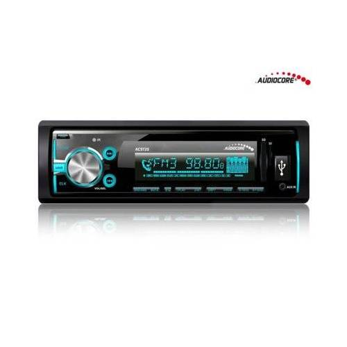 Audiocore Radioodtwarzacz AC9720 B MP3/WMA/USB/RDS/SD ISO Bluetooth Multicolor