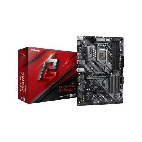 ASRock Płyta główna Z490 Phantom Gaming 4 Socket 1200 4DDR4 HDMI/DVI ATX
