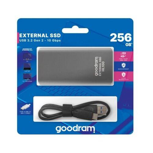 GOODRAM Dysk SSD zewnętrzny HL100 256GB