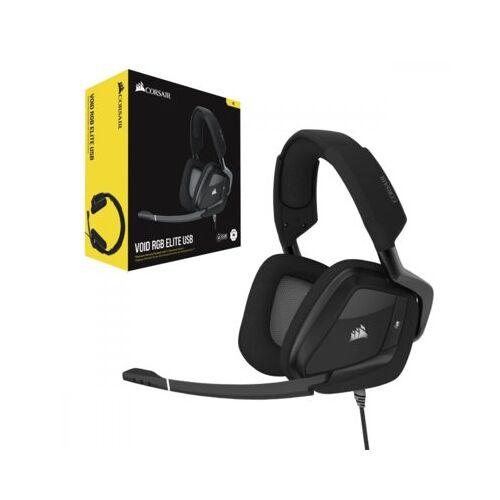 Corsair Zestaw słuchawkowy Surround 7.1 VOID RGB ELITE USB CARBO