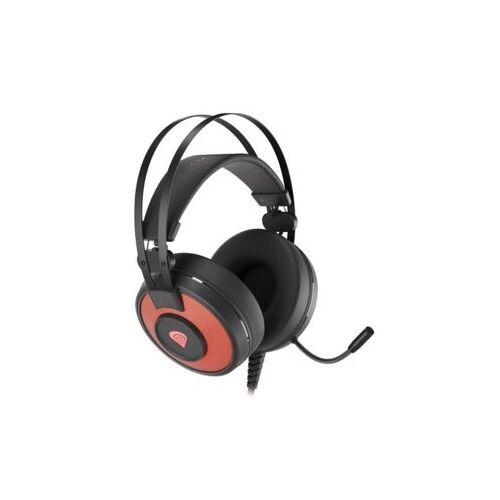 NATEC Słuchawki dla graczy Genesis Neon 600 podświetlenie RGB