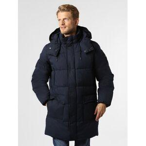 Calvin Klein - Męski płaszcz pikowany, niebieski