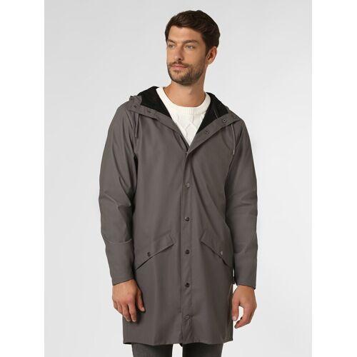 RAINS - Męski płaszcz funkcyjny, szary