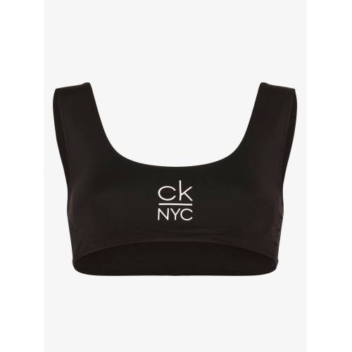 Calvin Klein - Damski góra od bikini, czarny