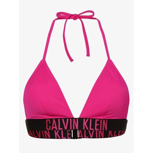 Calvin Klein - Damski top do bikini, różowy