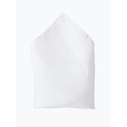 Andrew James - Poszetka jedwabna męska, biały