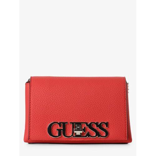 Guess - Damska torebka na ramię, różowy