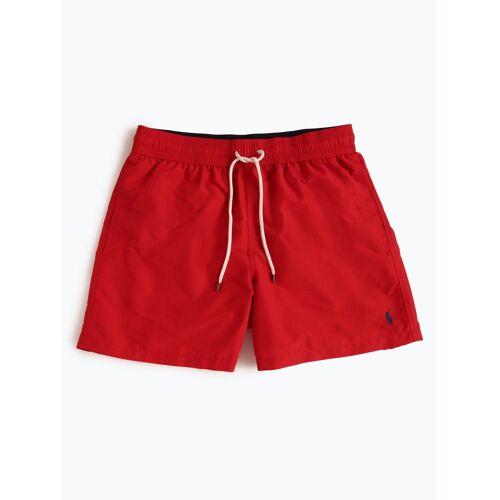 Polo Ralph Lauren - Męskie spodenki kąpielowe, czerwony