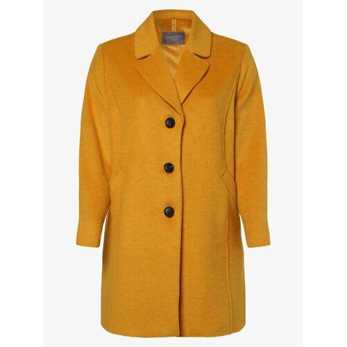 Samoon - Płaszcz damski, żółty
