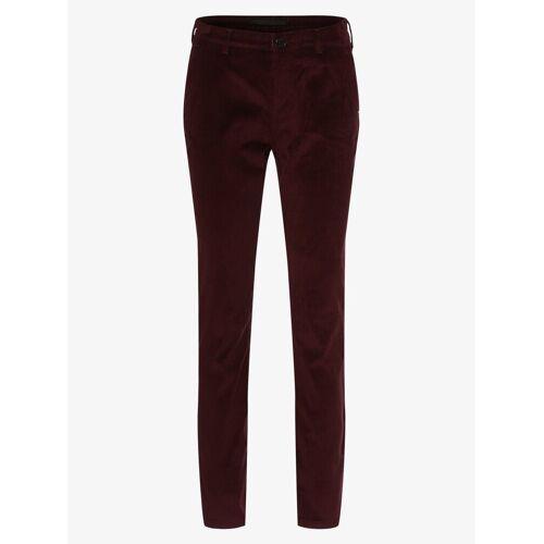 MAC - Spodnie damskie – Chino, czerwony