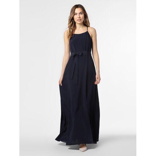 HUGO - Damska sukienka jedwabna – Kasilky-1, niebieski
