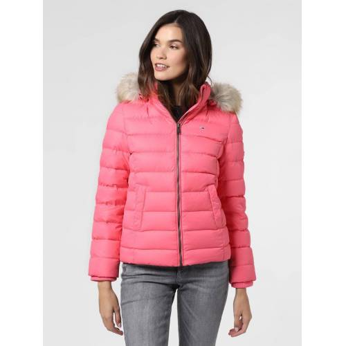 Tommy Jeans - Damska kurtka puchowa, różowy
