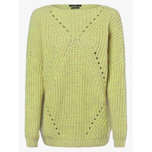 SET - Sweter damski, żółty