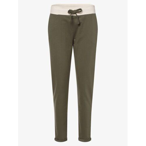 Marie Lund - Damskie spodnie dresowe, zielony