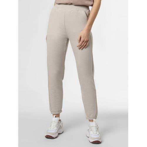 mbyM - Damskie spodnie dresowe – Sebastia, beżowy