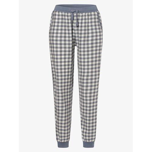 Marie Lund - Damskie spodnie od piżamy, niebieski
