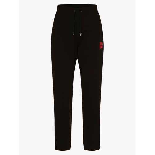 HUGO - Damskie spodnie dresowe, czarny