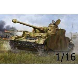Trumpeter Model czołgu Panzerkampfwagen IV wersja H w skali 1:16, Trumpeter