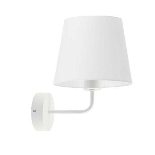 LYSNE Biała lampa ścienna RIMINI WYSYŁKA 24H