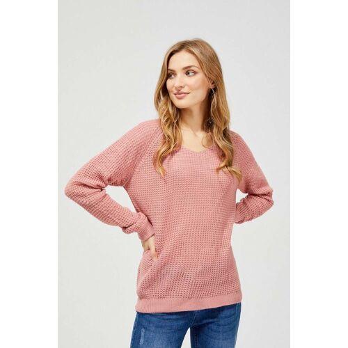 MOODO Sweter o luźnym splocie