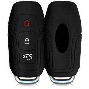 kwmobile Silikon etui dla kluczyk samochodowy dla Ford Ford - czarny
