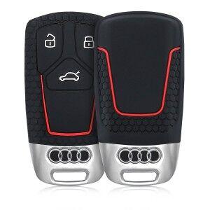 kwmobile Silikon etui dla kluczyk samochodowy dla Audi Audi - czarny