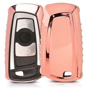 kwmobile Silikon etui dla kluczyk samochodowy dla BMW BMW - różowy