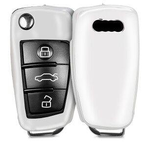 kwmobile Silikon etui dla kluczyk samochodowy dla Audi Audi - srebrny