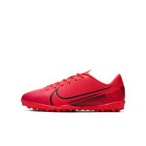 Nike Buty piłkarskie na sztuczną nawierzchnię typu turf dla małych/dużych dzieci Nike Jr. Mercurial Vapor 13 Academy TF - Czerwony