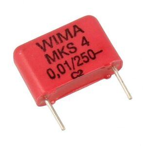 WIMA 10nF   250V Kondensator impulsowy MKS4 WIMA