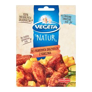 Vegeta Natur Mieszanka przyprawowa do pikantnych skrzydełek z kurczaka 20 g