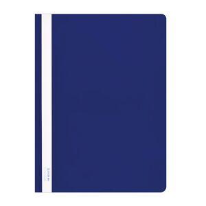 Donau Skoroszyt DONAU, PVC, A4, twardy, 150/160mikr., niebieski