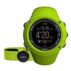 Suunto Zegarek Suunto Ambit 3 Run Lime (HR) (SS021261000)  - Unisex - Rozmiar: One Size