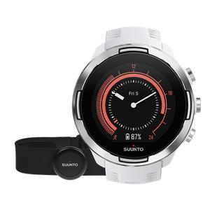Suunto Zegarek Suunto 9 G1 Baro HR Biały  - Unisex - Biały - Rozmiar: One Size