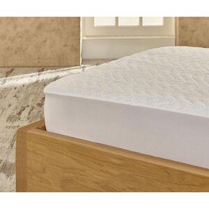 Pikowany pokrowiec na materac Marie Claire Helenie White 160x200 cm