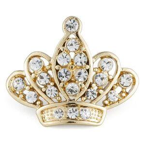 Broszka Queen Gold